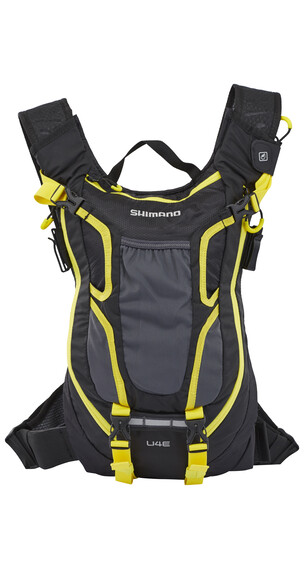 Shimano Unzen II Enduro Backpack 4 L black/yellow